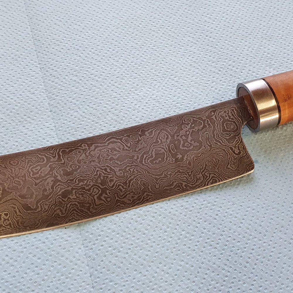 Schmiede-Kurse: Fertige Messer von Teilnehmern, Foto 9