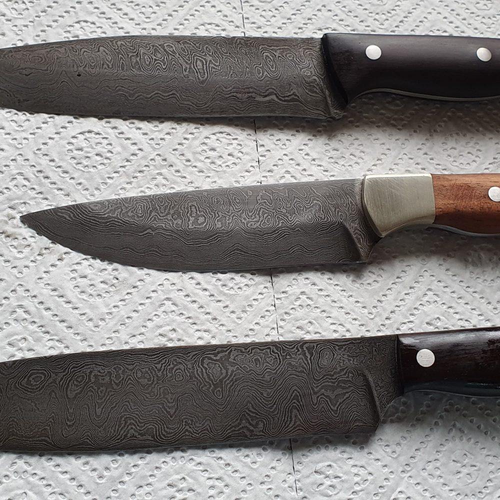 Schmiede-Kurse: Fertige Messer von Teilnehmern, Foto 20