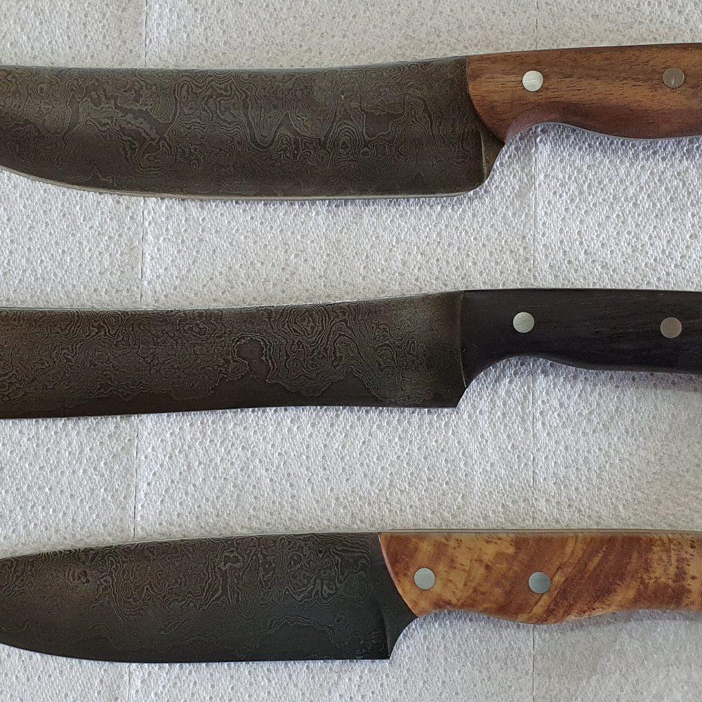 Schmiede-Kurse: Fertige Messer von Teilnehmern, Foto 21