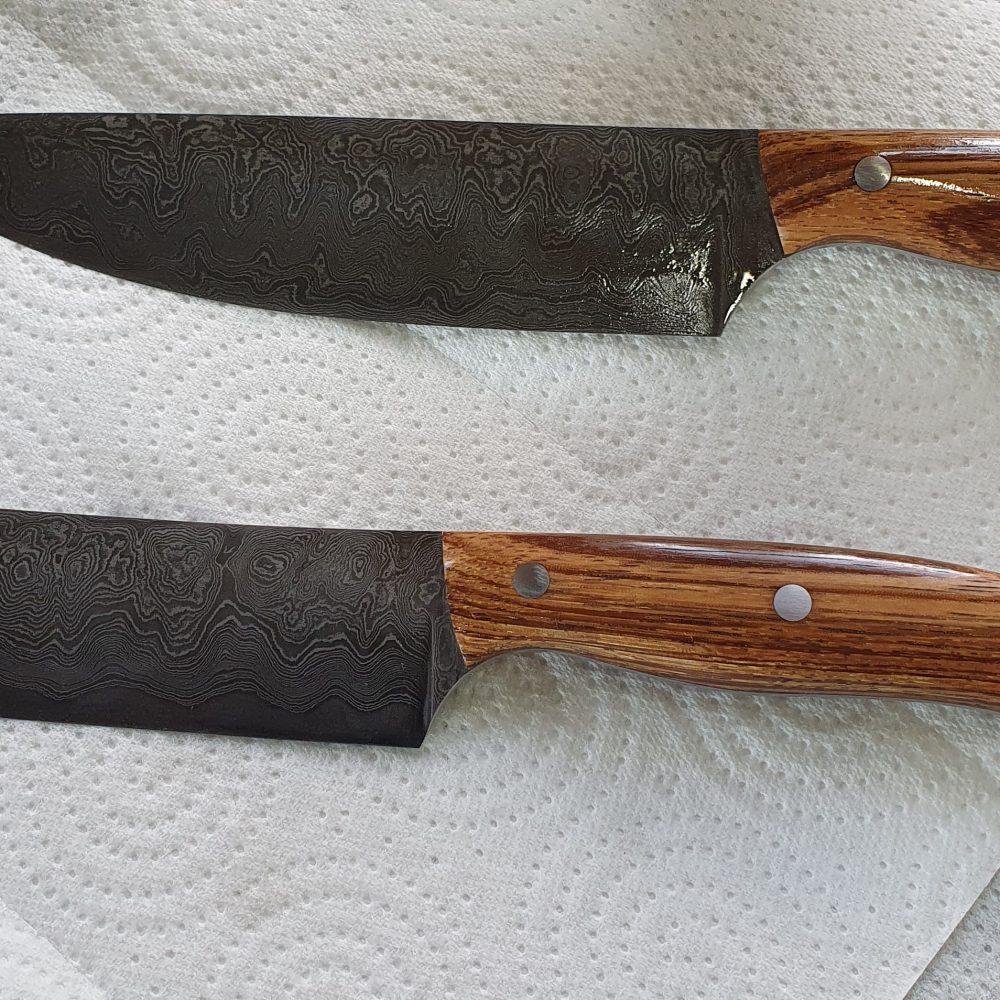 Schmiede-Kurse: Fertige Messer von Teilnehmern, Foto 24