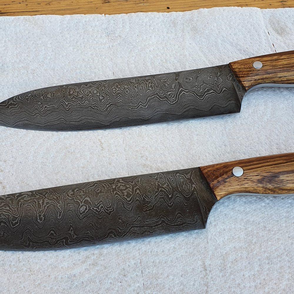 Schmiede-Kurse: Fertige Messer von Teilnehmern, Foto 26