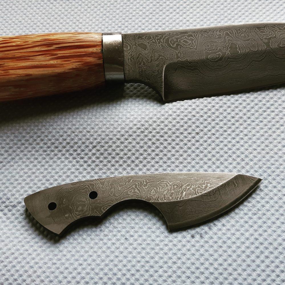 Schmiede-Kurse: Fertige Messer von Teilnehmern, Foto 4