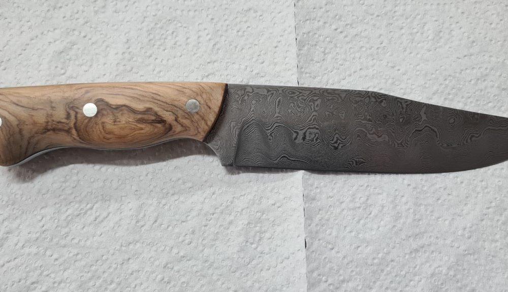 Schmiede-Kurse: Fertige Messer von Teilnehmern, Foto 34