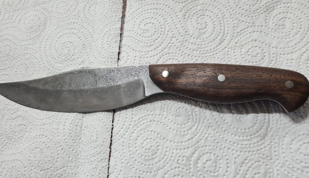 Schmiede-Kurse: Fertige Messer von Teilnehmern, Foto 31